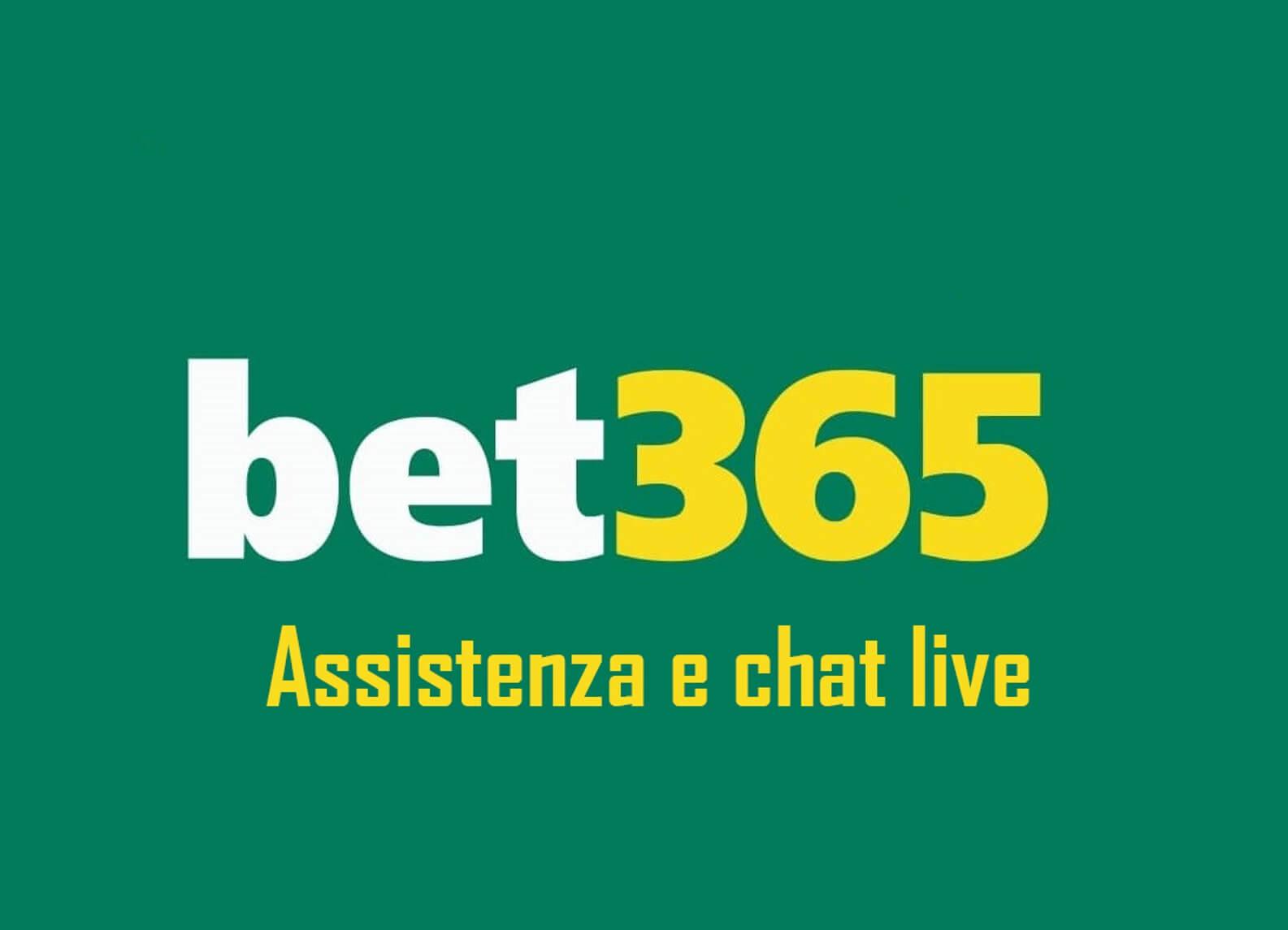 Supporto Bet365 e chat dal vivo