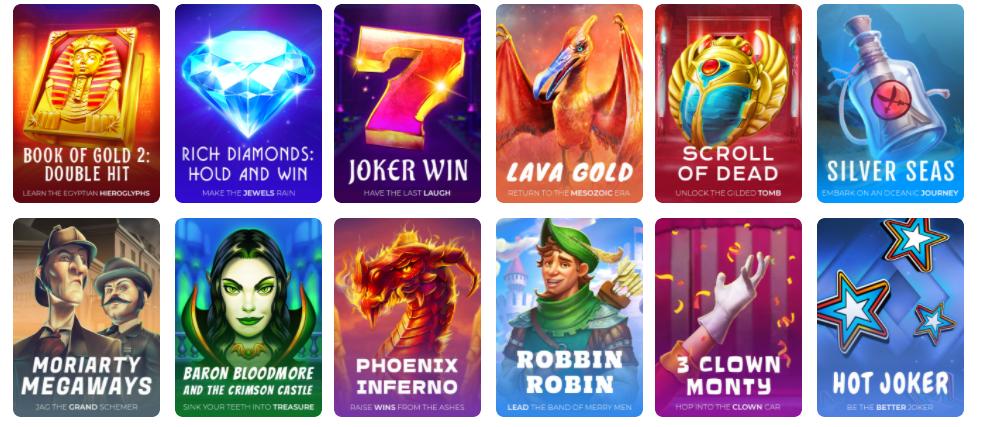Quali giochi da casinò offre Wisho?