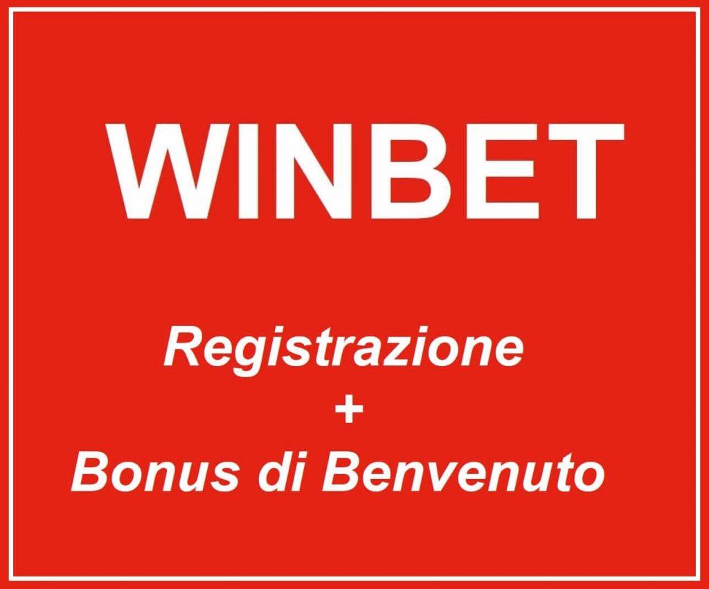 Winbet Italia registrazione