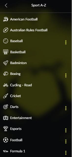 Quali scommesse sportive sono disponibili su Parimatch?