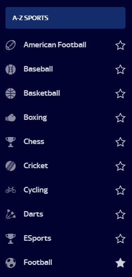 Lescommesse sportive su SkyBet