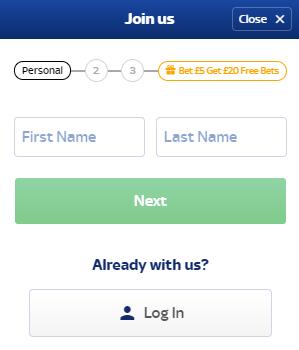 Registrarsi su Skybet – guida passo per passo