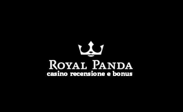 Royal Panda casino recensione e bonus
