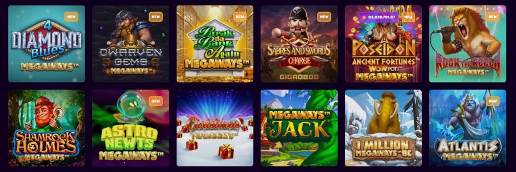 Quali giochi troverai suDux Casino?