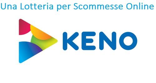 Keno: Una Lotteria per Scommesse Online